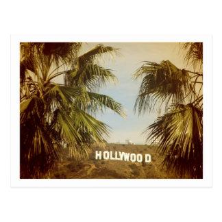 Schöne Hollywood-Postkarte! Postkarte