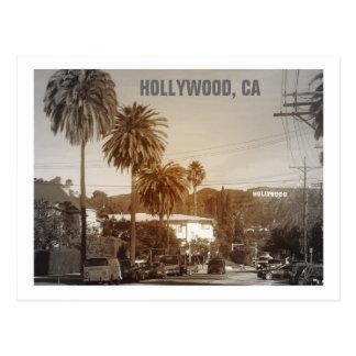 Schöne Hollywood-Postkarte! Postkarten