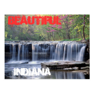 Schöne Indiana-Postkarte Postkarte