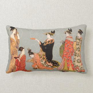 Schöne japanische Kunst-Entwurfs-Wurfs-Kissen Zierkissen