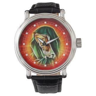 Schöne Jungfrau-Mary-Uhr (mehrfache Modelle) Armbanduhr