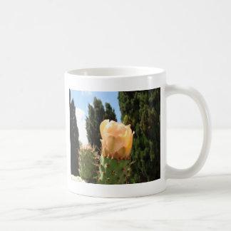 Schöne Kaktus-Blume Kaffeetasse