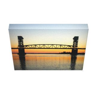 Schöne Kap-Furcht-Brücke Leinwanddruck