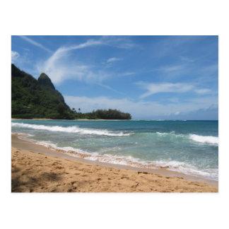 Schöne Kauai-Strände Postkarte