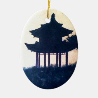Schöne Keramik Ornament