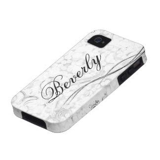 Schöne Krausen der Mutter Tages iPhone 4 Case