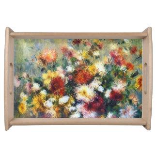 Schöne Kunst Chrysantheme-Pierres Renoir Tablett