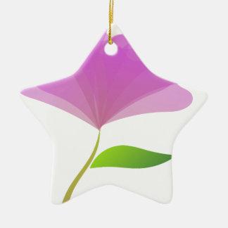 Schöne Kunst Keramik Stern-Ornament