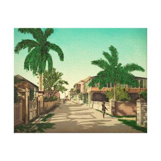 Schöne Kunst Nassaus, Bahamas Leinwanddruck