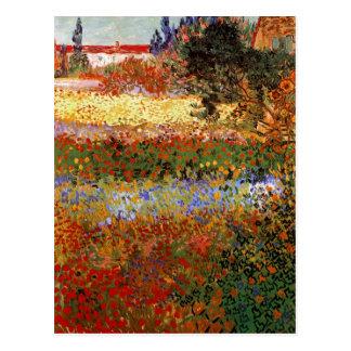Schöne Kunst Van Gogh blühenden Garten-(F430) Postkarten