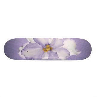 Schöne Lavendel-Orchidee 20,1 Cm Skateboard Deck