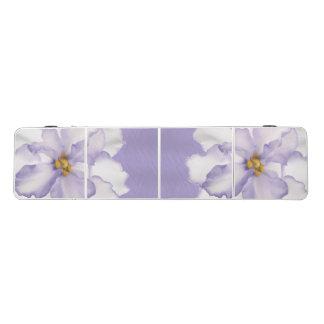 Schöne Lavendel-Orchidee Beer Pong Tisch