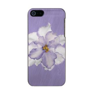 Schöne Lavendel-Orchidee Incipio Feather® Shine iPhone 5 Hülle