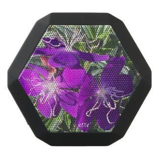 Schöne lila Blumen auf Bluetooth Lautsprecher