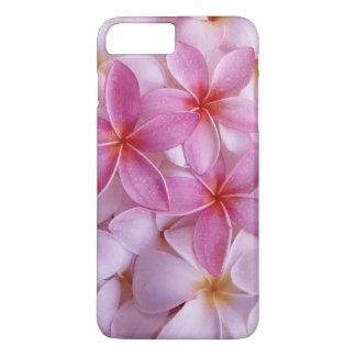 schöne lila rosa Blumen iPhone 8 Plus/7 Plus Hülle