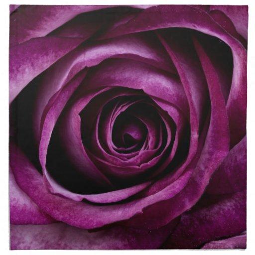 sch ne lila rosen blumen blumenblatt girly geschen servietten. Black Bedroom Furniture Sets. Home Design Ideas