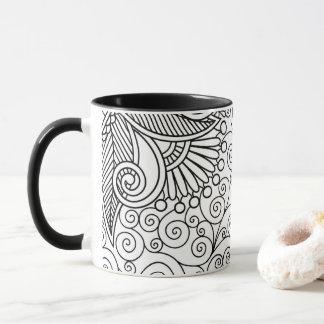 Schöne Linie Kunst-Tasse Tasse