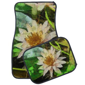 Schöne Lotos-Blume Automatte