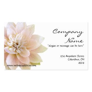 Schöne Lotos-Blumen-Geschäfts-Karte Visitenkarten Vorlage