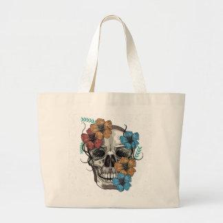 Schöne lustige tote mexikanische jumbo stoffbeutel