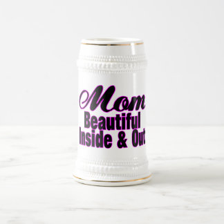Schöne Mamma nach innen u. heraus Bierglas