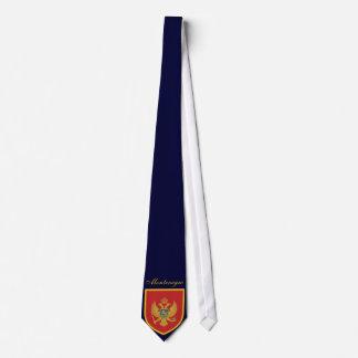 Schöne Montenegro-Flagge Krawatte