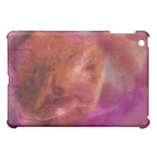 Schöne mysteriöse orange Katze iPad Mini Hüllen