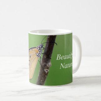 Schöne Naturschmetterlings-Tasse für Kaffeetasse