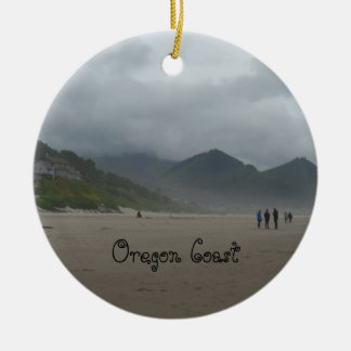 Schöne Oregon-Küsten-Kanonen-Strand-Verzierung Keramik Ornament