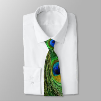Schöne Pfau-Federn Krawatten