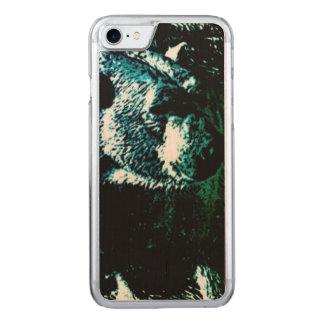 Schöne polare betreffen schwarzen Hintergrund Carved iPhone 8/7 Hülle