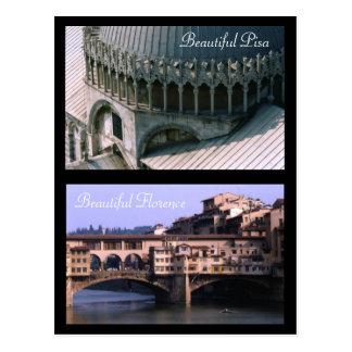 Schöne Postkarte Toskana |