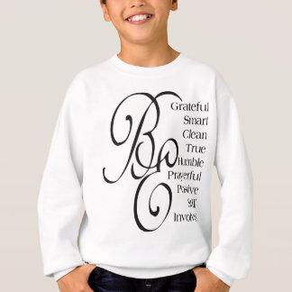 Schöne Redewendungen und Zitate Sweatshirt