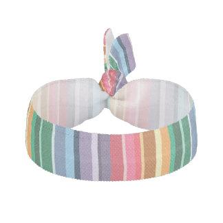 Schöne Regenbogen-Streifen Haarschleife
