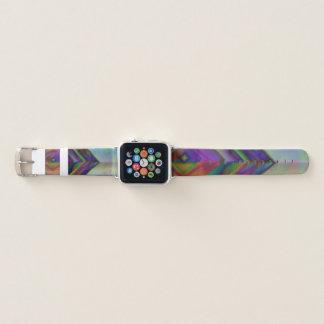 Schöne Regenbogenmode-Entwurfsfarben Apple Watch Armband