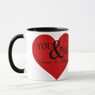Schöne romantische Art-Tasse für Liebhaber Tasse