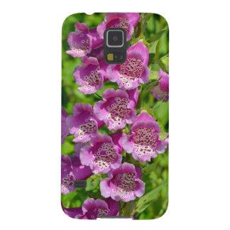 Schöne rosa Fingerhut-Blumen Samsung Galaxy S5 Hülle