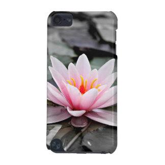 Schöne rosa Lotos-Blumen-Wasserliliezen-Kunst iPod Touch 5G Hülle