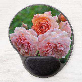 Schöne rosa Rosen Gel Mousepad