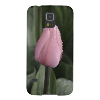 Schöne rosa Singletulpe Galaxy S5 Cover