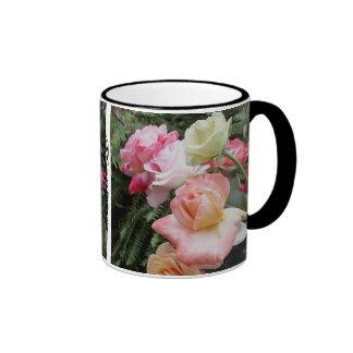 Schöne Rosen-Kaffee-Tasse