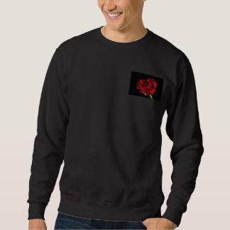 Schöne Rote Rose Sweatshirt