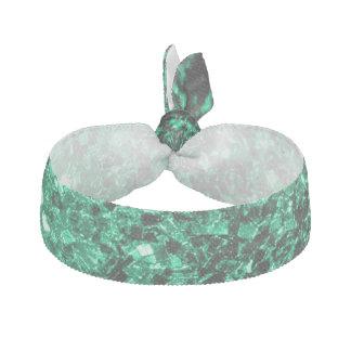 Schöne Smaragdgrün-Glitter-Glitzern Haarschleife