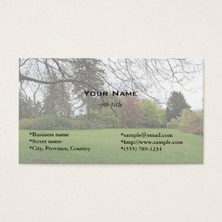Schöne Sommergarten-Geschäftskarten Visitenkarte