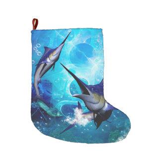 Schöne Speerfische Großer Weihnachtsstrumpf