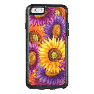 Schöne Sun-Blumen OtterBox iPhone 6/6s Hülle