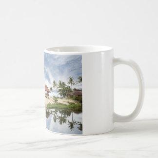 schöne thailändische Strandlandschaft Kaffeetasse