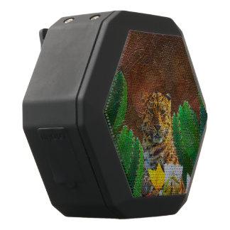 Schöne Tiger-Kaktus-Blumen Schwarze Bluetooth Lautsprecher