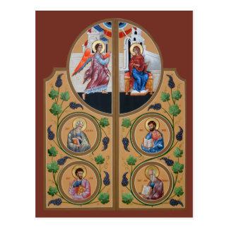 Schöne Tor-Gebets-Karte Postkarte