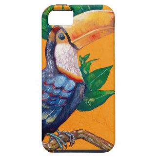 Schöne Toucan Vogel-Malerei Etui Fürs iPhone 5